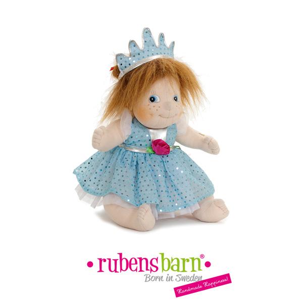 Robe princesse en bleu pour poupée little rubens Rubens barn