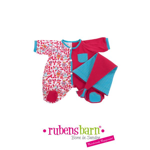 Pyjama rose pour poupée rubens baby Rubens barn
