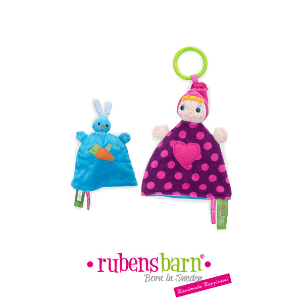 Doudou rubens goodies réversible twistie Rubens barn