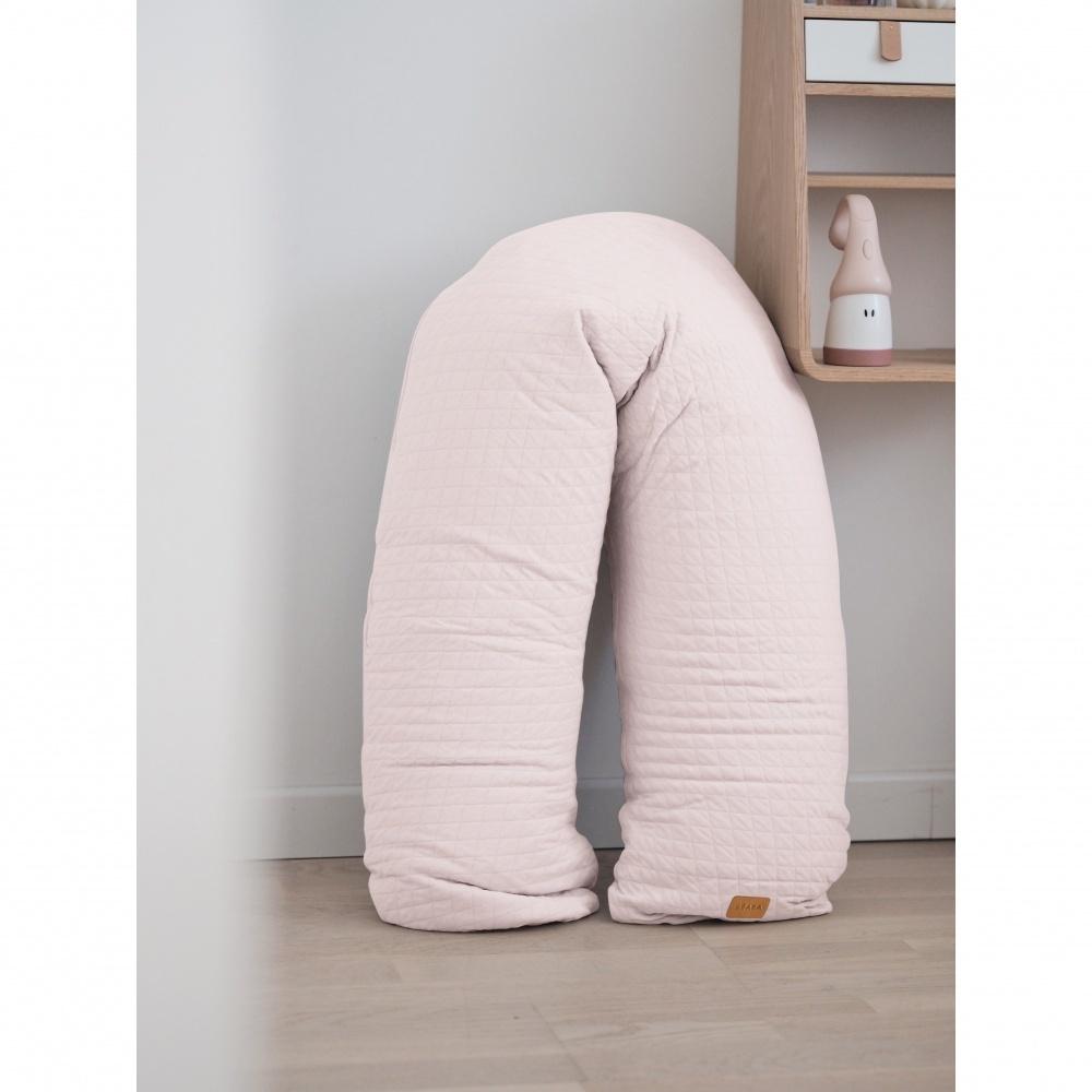 coussin d 39 allaitement big flopsy fleur de coton rose. Black Bedroom Furniture Sets. Home Design Ideas