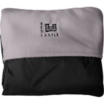Couverture coupe vent noir / taupe de Red castle