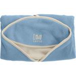 Couverture bébé babynomade polaire t2 ciel/ivoire pas cher