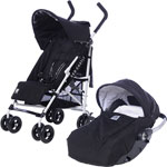 Poussette duo citylink 2 rc2 black and white pas cher