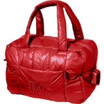 Sac à langer fourretout feather light rouge pas cher
