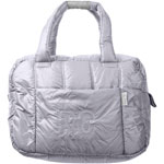 Sac à langer fourretout feather light gris clair mat pas cher