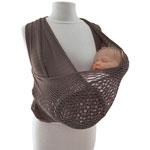 Porte bébé echarpe de portage fil up t2 gris pas cher