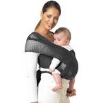 Porte bébé écharpe de portage  fil up noir t1 pas cher