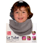 Tube polaire taupe pas cher