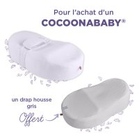 Cocoonababy blanc + drap housse leaf offert