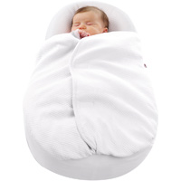 Couverture cocoonacover pour cocoonababy ouatinée blanc