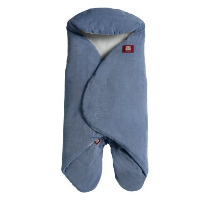 Couverture babynomade chambray 0-6 mois bleu Red castle