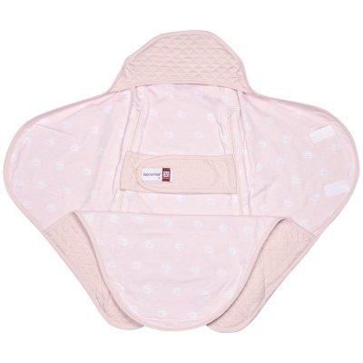 Couverture babynomade légère 6-12 mois rose dragée / miss sunday Red castle