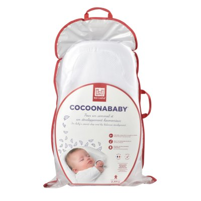 Cocoonababy blanc + drap housse leaf offert Red castle