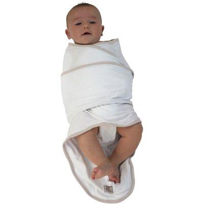 Couverture bébé miracle blanc/beige Red castle