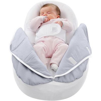 couverture cocoonacover l g re gris clair 0 3 4 mois 10 sur allob b. Black Bedroom Furniture Sets. Home Design Ideas
