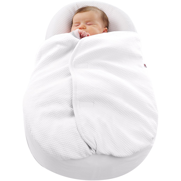 Couverture cocoonacover pour cocoonababy ouatinée blanc Red castle