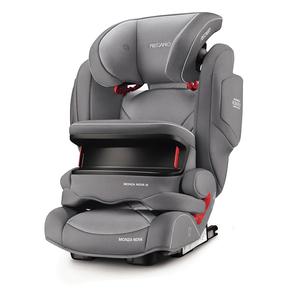 si ge auto monza nova is seatfix aluminium grey groupe 1 2 3 de recaro sur allob b. Black Bedroom Furniture Sets. Home Design Ideas