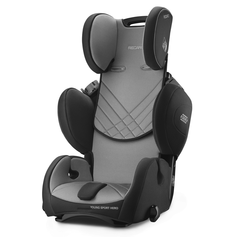 si ge auto young sport hero carbon black groupe 1 2 3 de recaro sur allob b. Black Bedroom Furniture Sets. Home Design Ideas