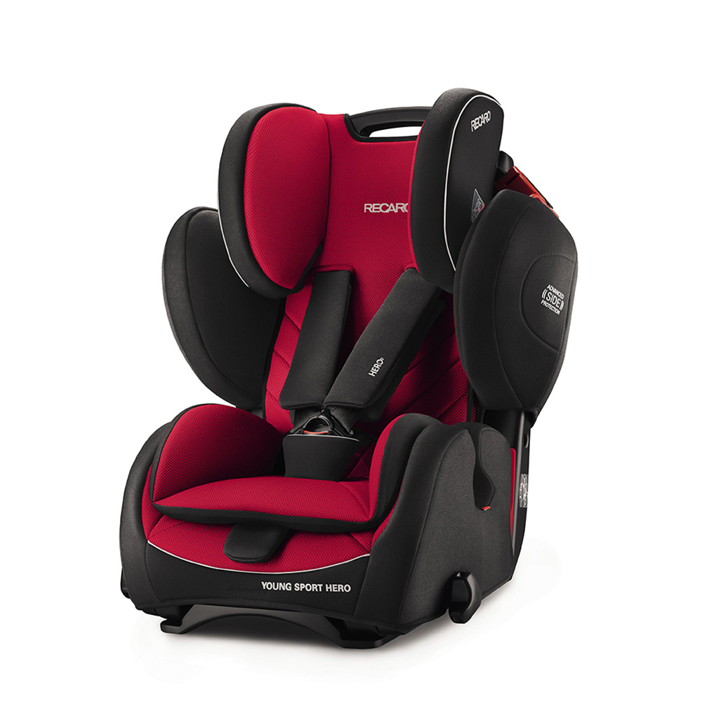 si ge auto young sport hero racing red groupe 1 2 3 de recaro sur allob b. Black Bedroom Furniture Sets. Home Design Ideas