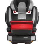 Siège auto monza nova is seatfix avec bouclier graphite-groupe 1/2/3 pas cher