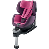 Siège auto zero1 isofix power berry - groupe 0+/1