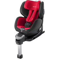 Siège auto zero1 isofix racing red - groupe 0+/1