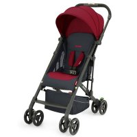 Poussette 4 roues easylife 2 select garnet red