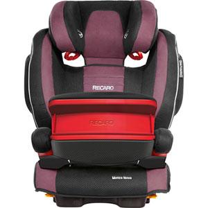 Siège auto groupe 1/2/3 monza nova is seatfix avec bouclier violet