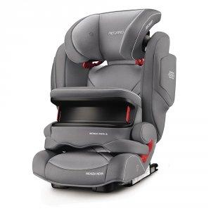 Siège auto monza nova is seatfix aluminium grey - groupe 1/2/3