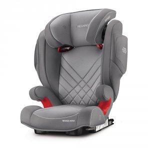 Siège auto monza nova 2 seatfix aluminium grey - groupe 2/3
