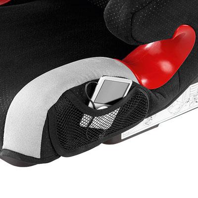 Siège auto monza nova is seatfix avec bouclier black - groupe 1/2/3 Recaro