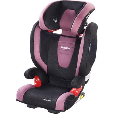 Siège auto monza nova seatfix 2 violet - groupe 2/3 Recaro