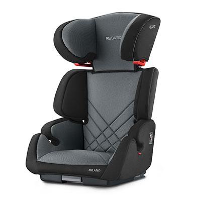 Siège auto milano seatfix carbon black - groupe 2/3 Recaro