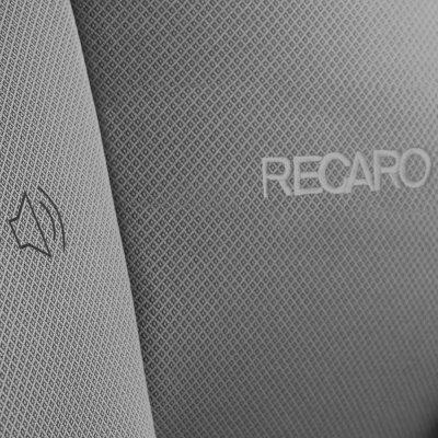Siège auto monza nova is seatfix aluminium grey - groupe 1/2/3 Recaro