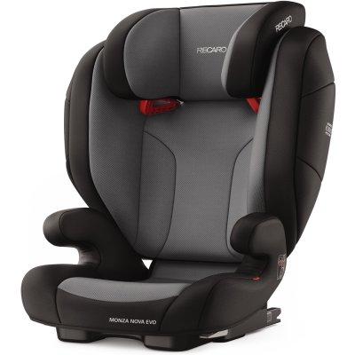 Siège auto monza nova evo seatfix carbon black - groupe 2/3 Recaro