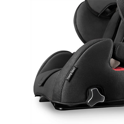 Siège auto young sport hero black - groupe 1/2/3 Recaro