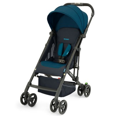 Poussette 4 roues easylife 2 select teal green Recaro
