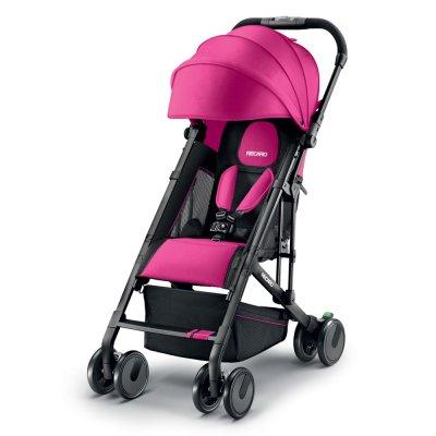 Poussette 4 roues easylife elite pink Recaro