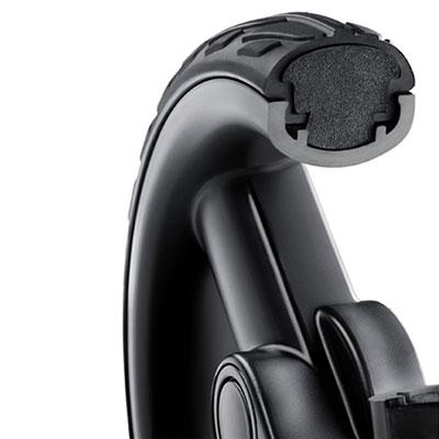 Poussette 4 roues citylife graphite châssis noir Recaro