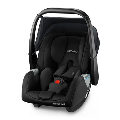 Poussette duo easylife graphite + coque privia performance black + adaptateurs Recaro