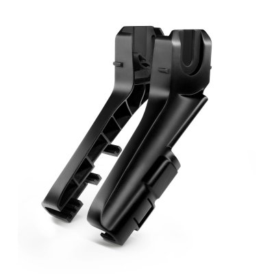 Poussette duo easylife black + coque privia performance black + adaptateurs Recaro