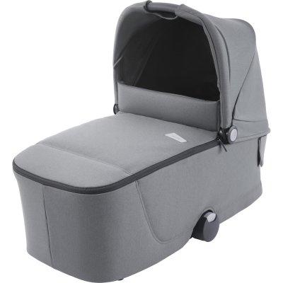 Pack poussette trio celona black et assise + nacelle + siège auto avan silent grey + base Recaro