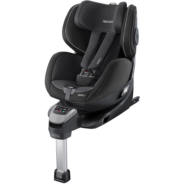 si ge auto zero1 isofix performance black groupe 0 1. Black Bedroom Furniture Sets. Home Design Ideas