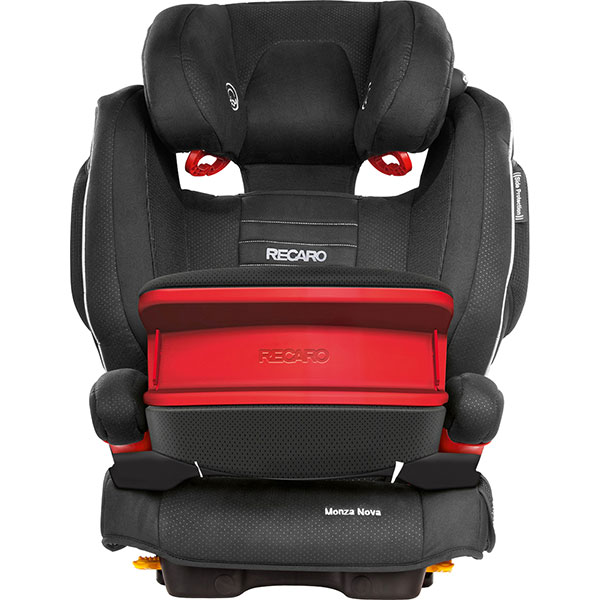 si ge auto monza nova is seatfix avec bouclier black groupe 1 2 3 de recaro en vente chez cdm. Black Bedroom Furniture Sets. Home Design Ideas