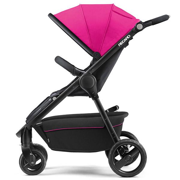 Poussette citadine citylife pink châssis noir Recaro
