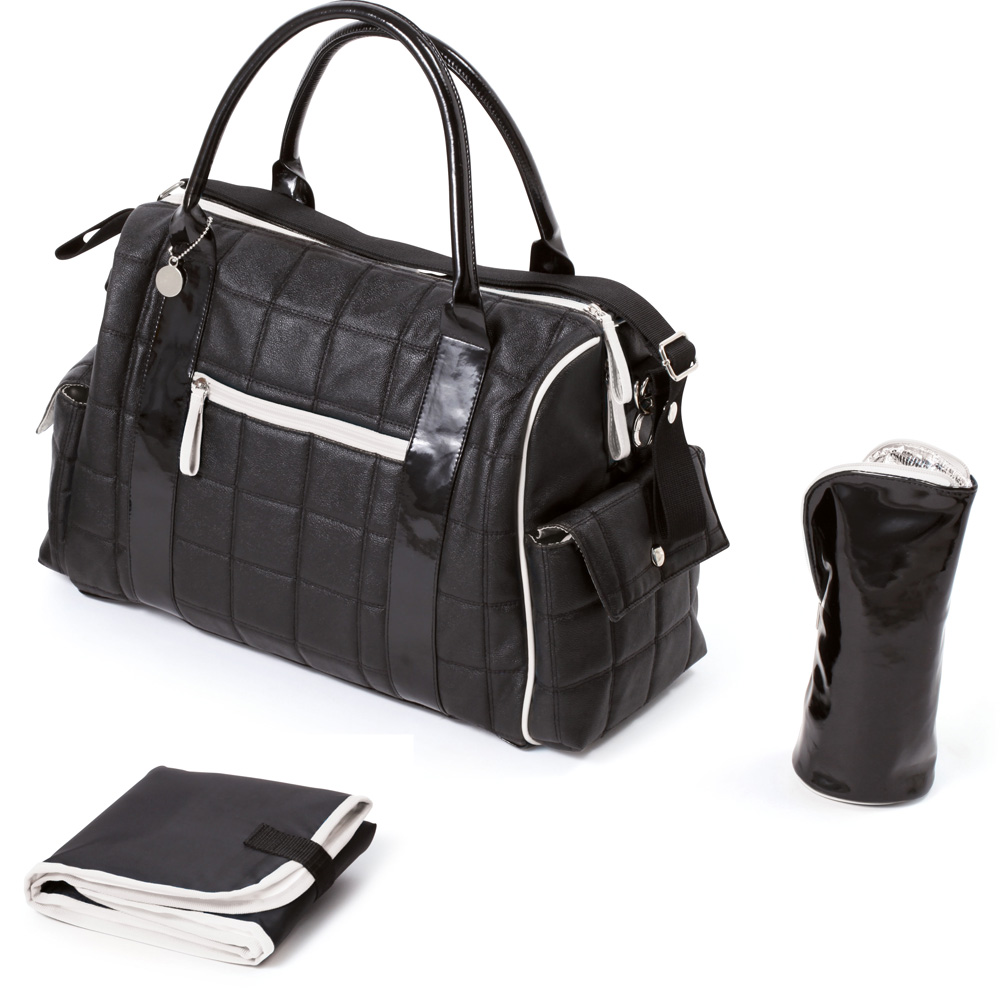 2 À New Langer Sac Noir Chic Style rq4r05n