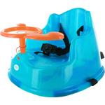 Rehausseur de table avec volant turquoise pas cher