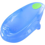 Transat de bain bébé bleu pas cher