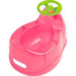 Pot bébé rose avec volant pas cher
