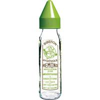 Biberon verre 240 ml vintage dbb tétine silicone vert